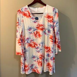 Pinkblush Floral Dress
